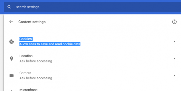 adlock- how to block third party cookies in google chrome - chrome cookies