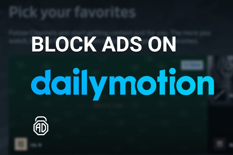 how to block ads on dailymotion adlock