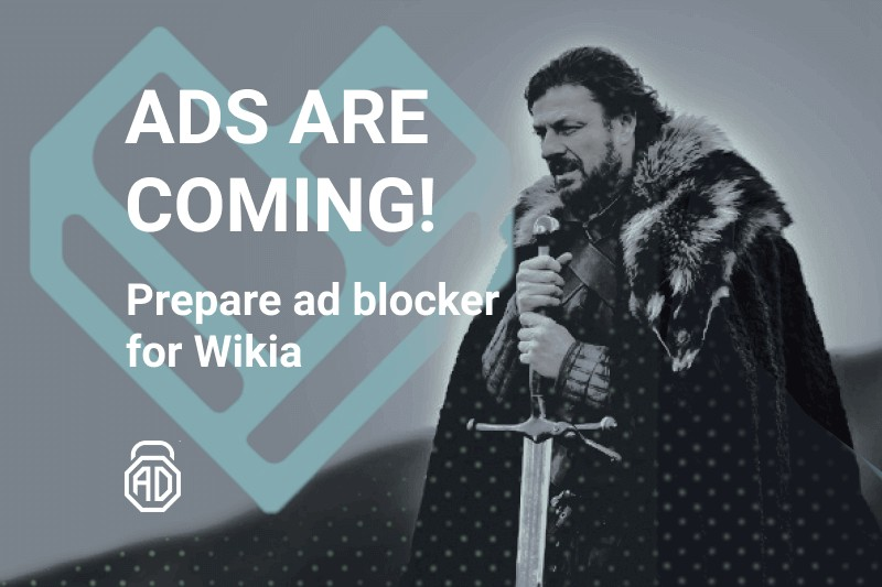 disable wikia ads adlock