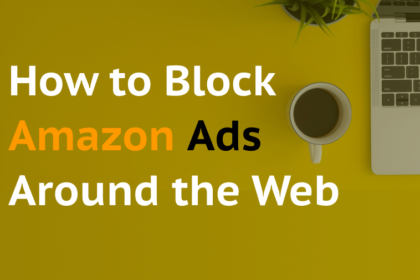 How to block Amazon ads around the Web