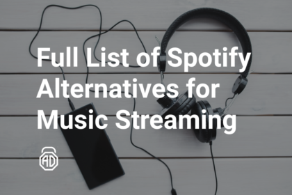 Full list of Spotify Alternatives for music streaming
